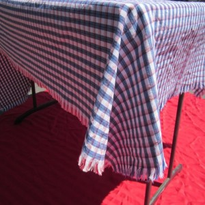 tablecloth redwhiteblue